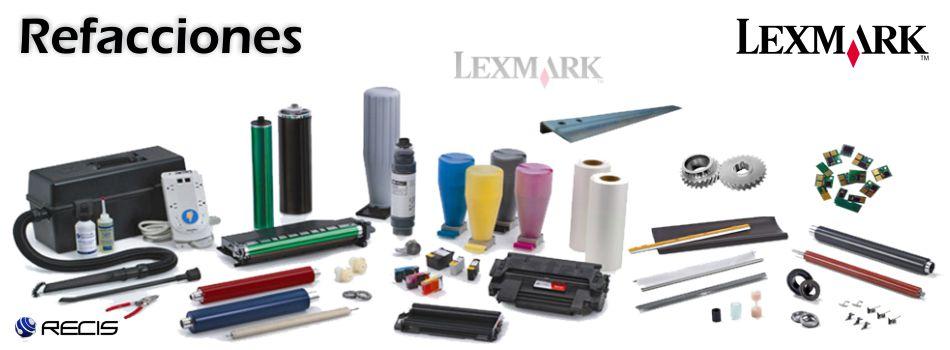 Refacciones Lexmark